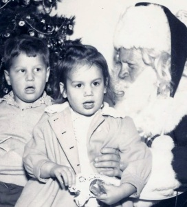 Val and Ed 1954 Christmas